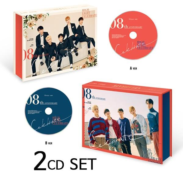 몽동닷컴 하이라이트 (Highlight) 미니앨범 2집 Celebrate (A B 2CD 세트) 하이라이트 아이돌음반 아이돌앨범 아이돌 아이돌굿즈