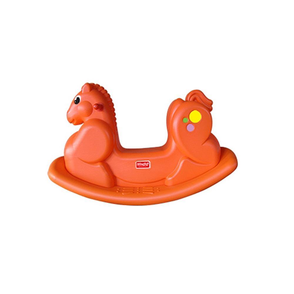 의자 아이 유아 장난감 흔들말타기 오렌지 조카 선물 유아원 장난감 2살장난감 아이놀이 어린이선물