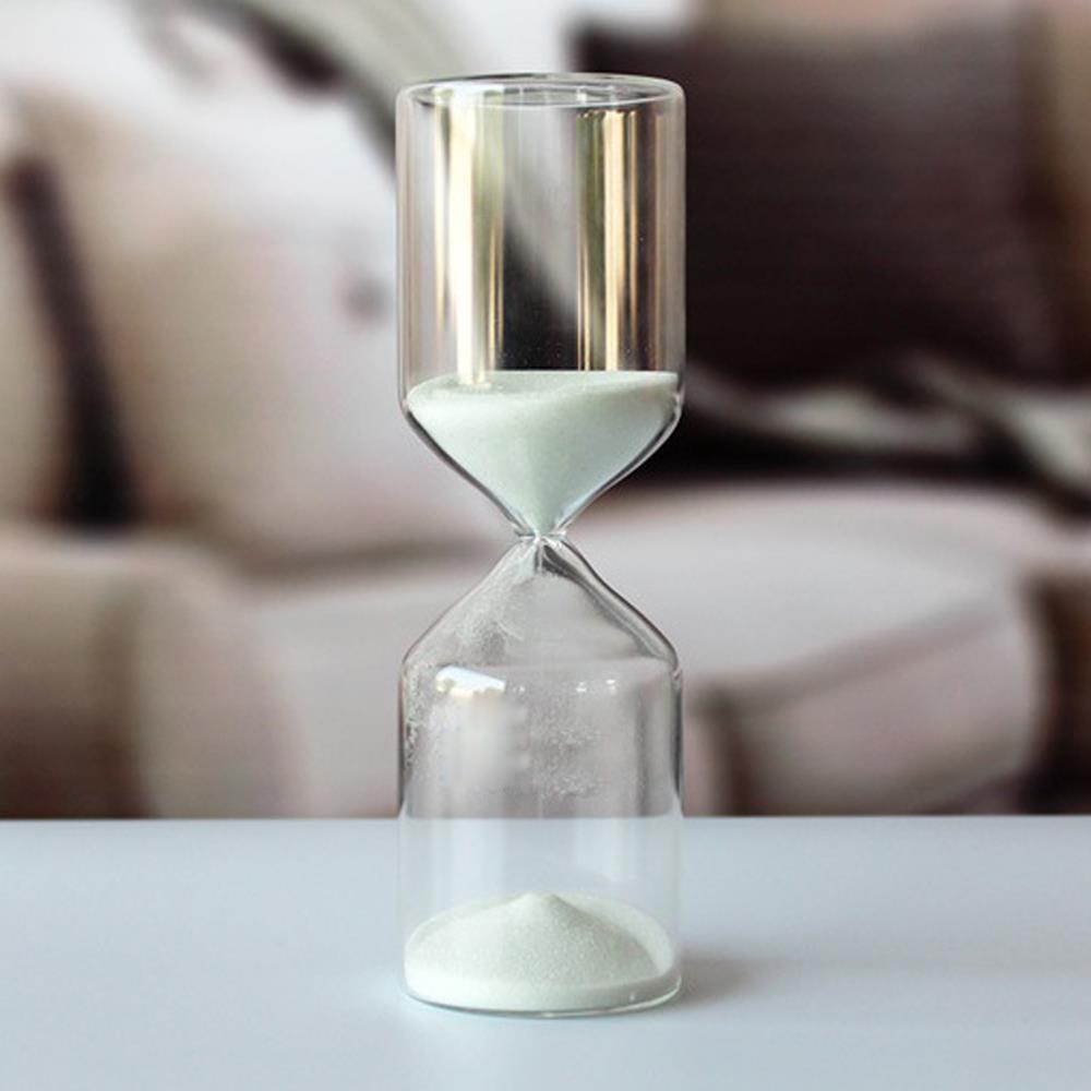 인테리어 유리 타이머 15분 모래시계 욕실용품 반신욕시계 모레시계 15분모래시계 사우나모래시계 욕실시계