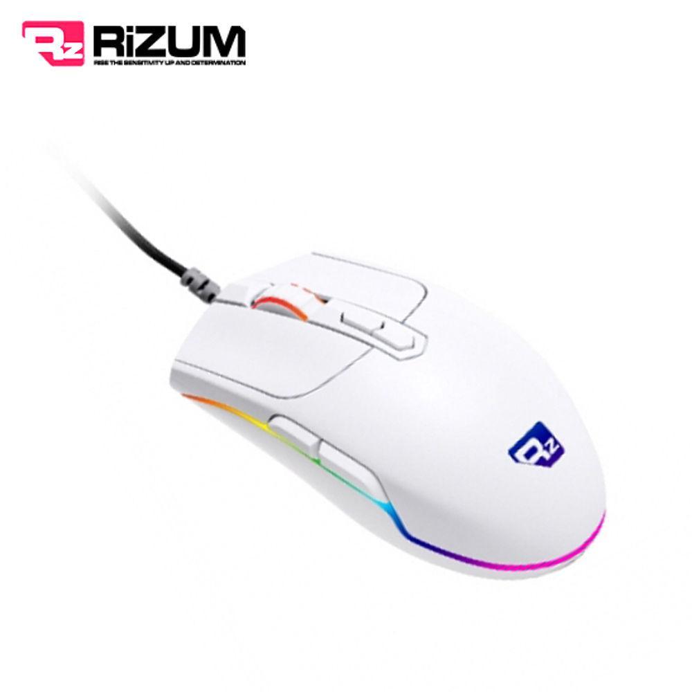 리줌 RGB 게이밍마우스 (RS-G1) (화이트) 게이밍 마우스 게임 노트북 컴퓨터