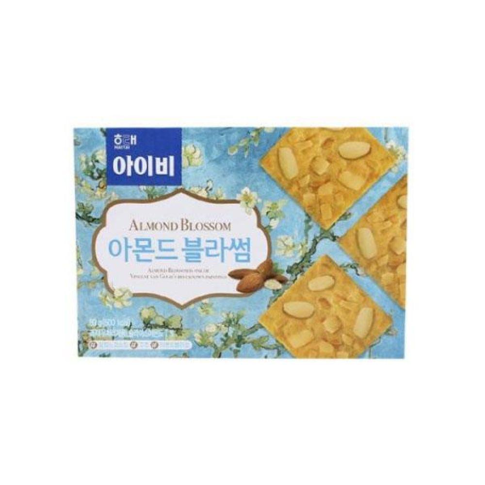 해태)아이비 아몬드블라썸 89g x 12개 과자 스낵 군것질 박스단위 도매