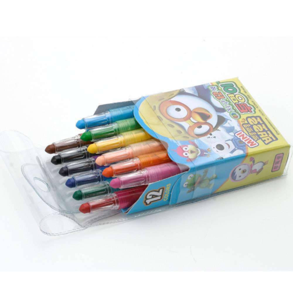 색연필 미니 색연필세트 12색 샤프식 뽀로로 색칠공부 미술색연필 팬시색연필 샤프식색연필 캐릭터색연필 초등학생색연필