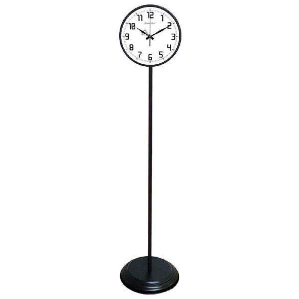 GB6162 무소음 대형 교육용 메탈 스탠드시계 진밤색 스탠드시계 인테리어시계 무소음시계 대형시계 빅사이즈시계 유아동시계 교육용시계 플로어시계 stand clock wallclock 장식시계 메탈시계 시계 홈데코 집들이선물 결혼 인테리어소품