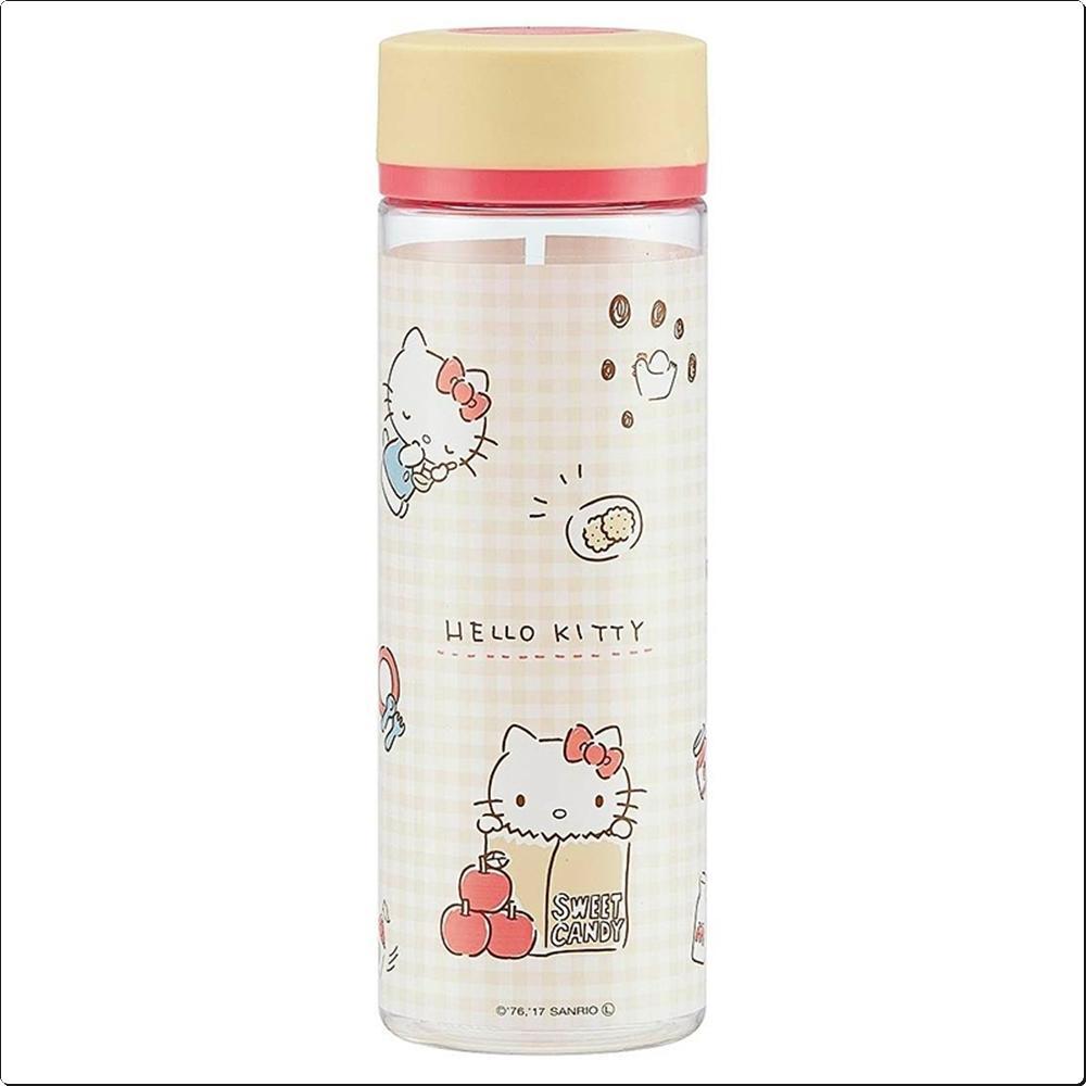 헬로키티 체크 휴대물통 400ml (보틀)(일)(382574) 캐릭터 캐릭터상품 생활잡화 잡화 유아용품
