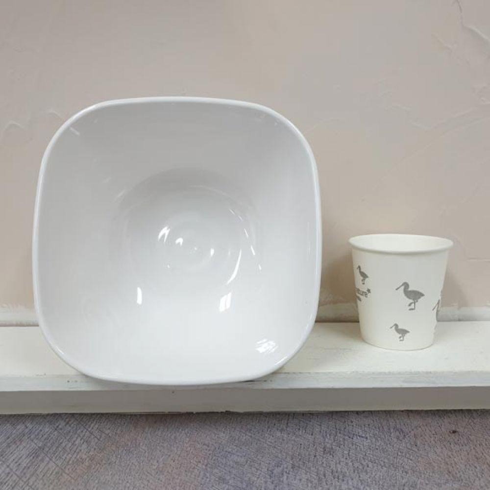 웰빙 사각 7볼 그릇볼 그릇 주방용품 접시 면기 볼 그릇 면기 그릇볼 주방용품
