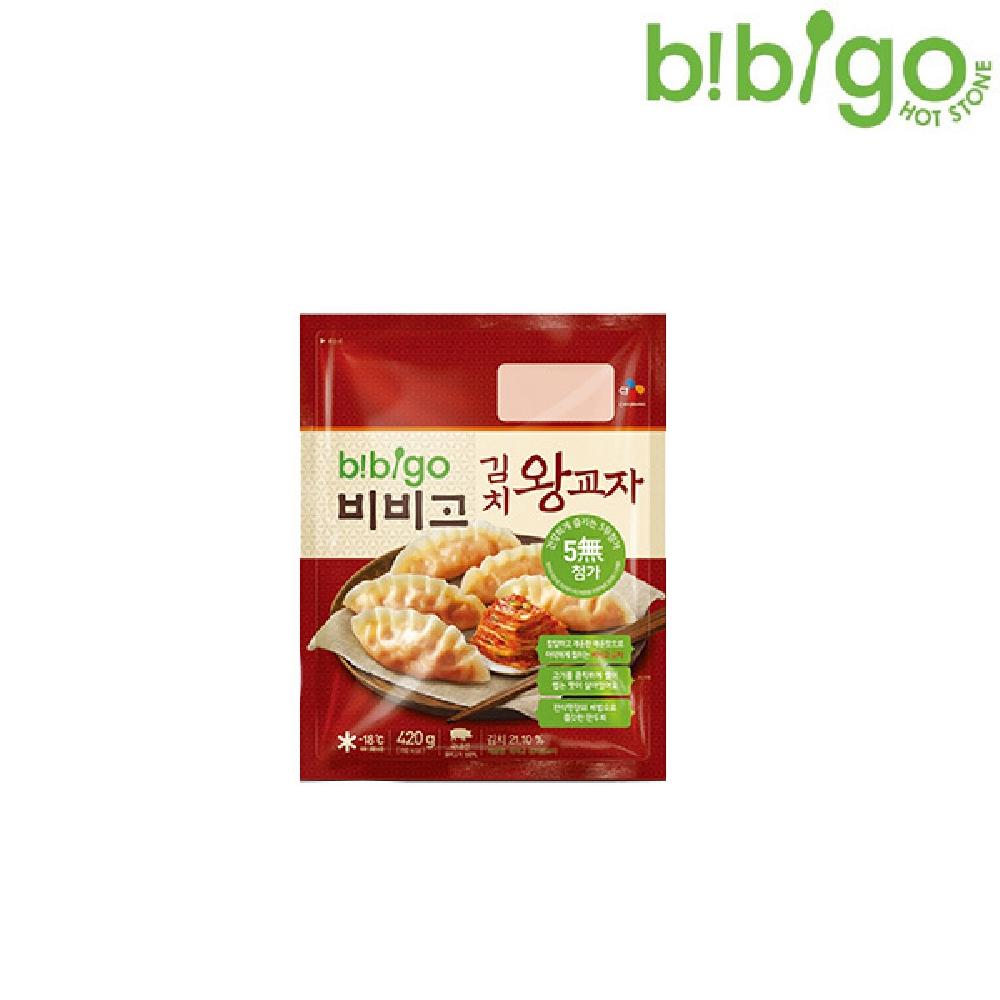 비비고 김치 왕교자 420g 맛있는만두 김치만두 물만두 딤섬 감자만두
