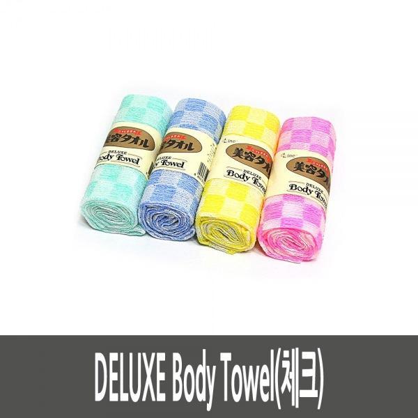 DELUXE Body Towel(체크) 6SET 생활용품 잡화 주방용품 생필품 주방잡화