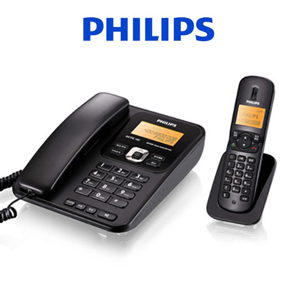 필립스182 디지털 고급 유무선 전화기 유무선 전화기 CID 발신자표시 번호저장