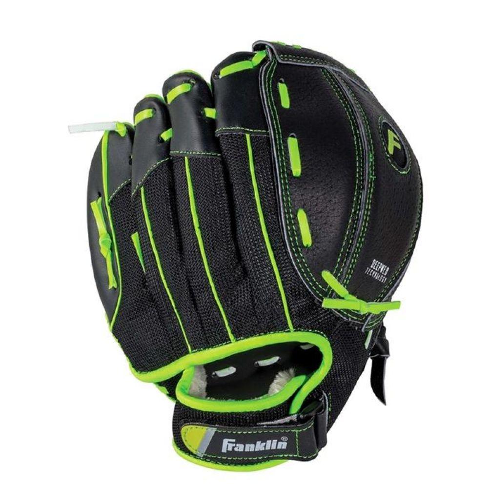 프랭클린 유소년 필렉스라인 야구글러브 블랙 990g 야구용품 야구글러브 유소년글러브 티볼글러브 유소년티볼글러브 어린이티볼글러브