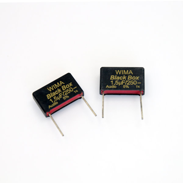 위마 콘덴서 Wima Black Box 250V 1.5uf 2개 콘덴서 오디오 캐패시티 audio 위마 WIMA 독일