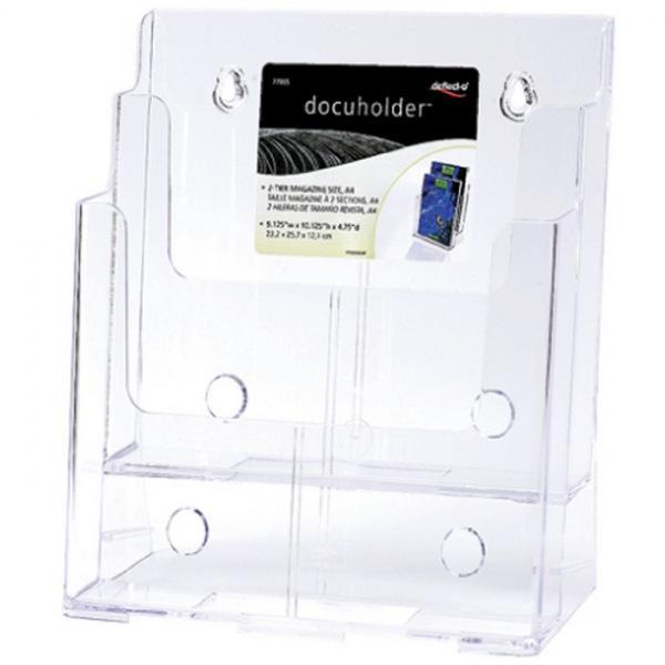 DG A4꽂이 2단 77865 F4002 생활잡화 사무용품 표지판 잡화 생활용품 소형간판 A4 꽂이 2단