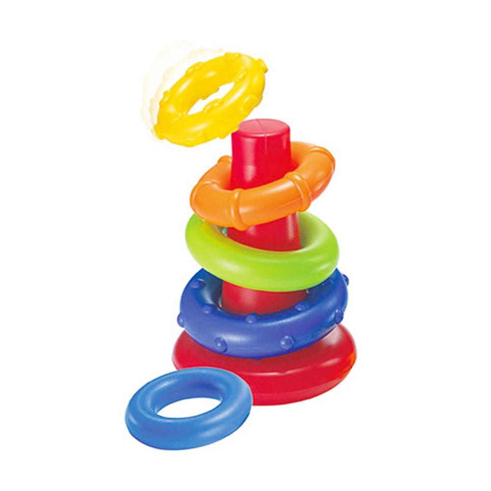 선물 2세 3세 유아 교육 놀이 완구 링쌓기 장난감 유아원 장난감 2살장난감 3살장난감 4살장난감