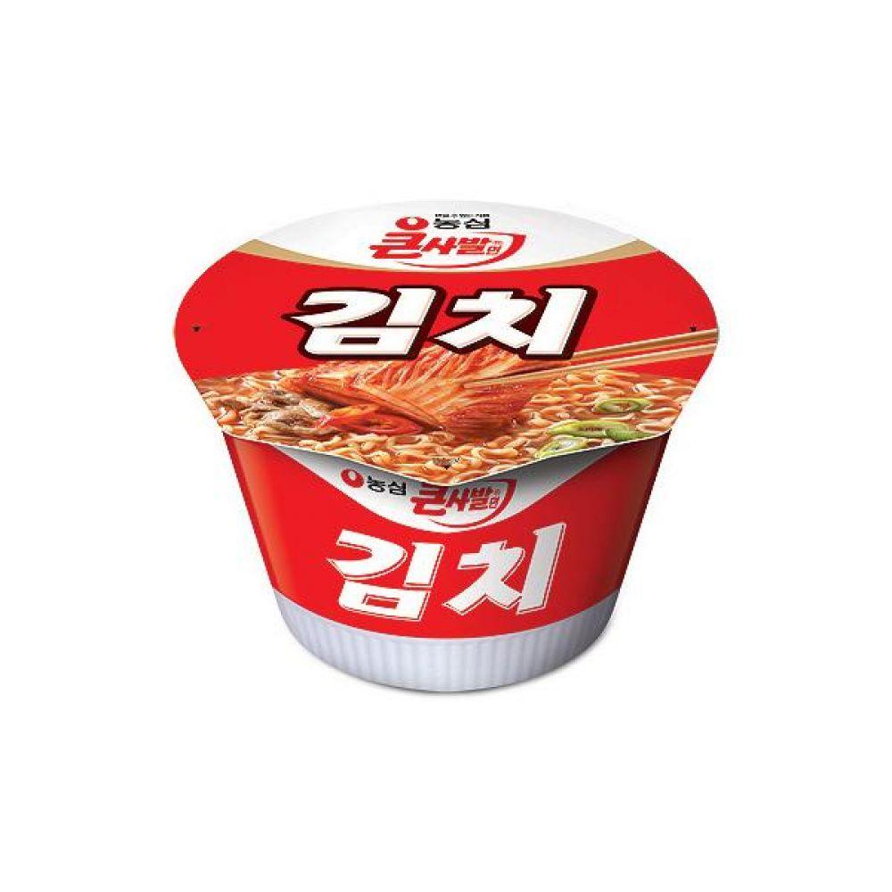 농심)김치 큰사발 x 16개 라면 컵라면 사발면 간식 식사