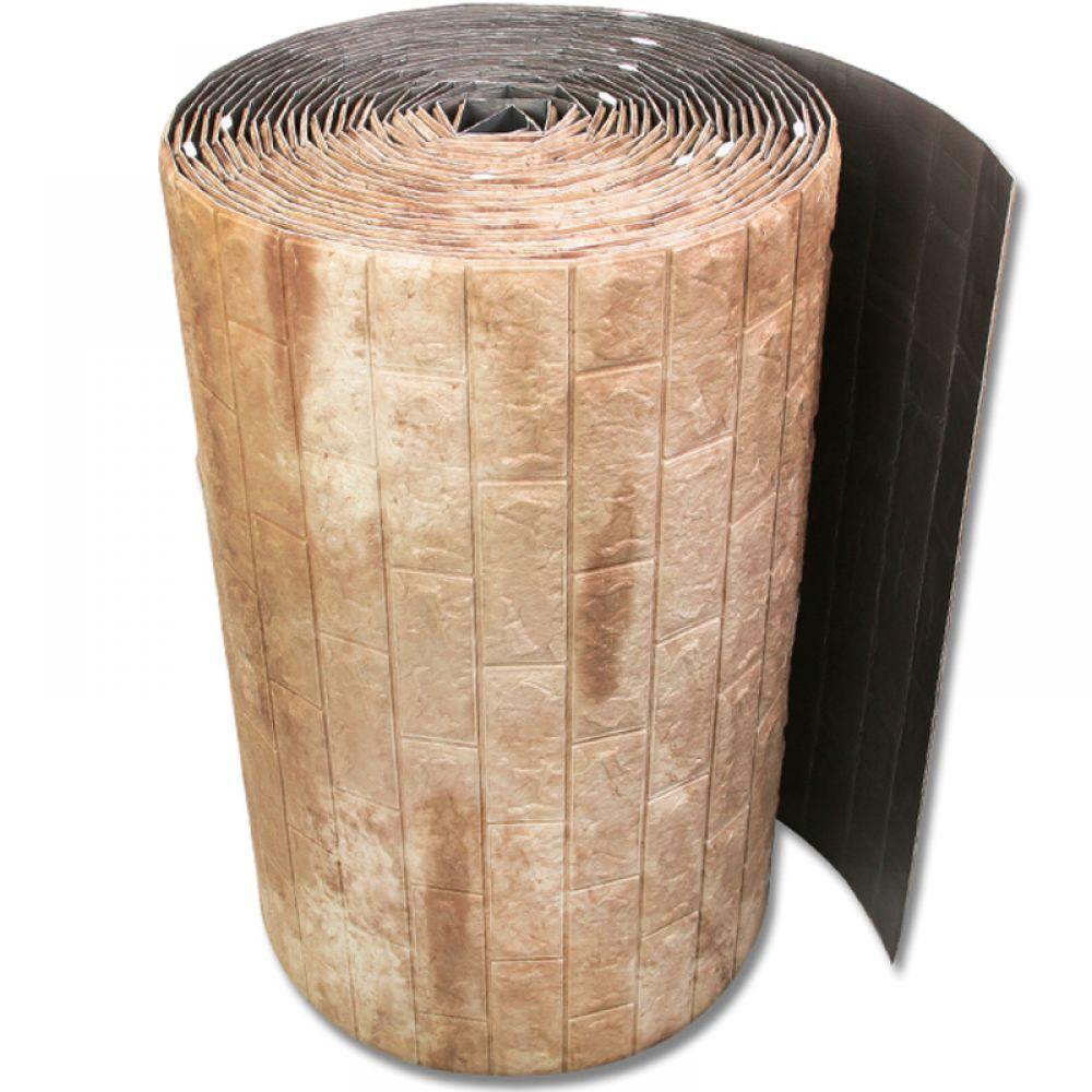 접착식 대형롤 폼블럭 벌크형 카푸치노 폼블럭 단열벽지 시트지 벽돌폼블럭 폼벽지 접착식벽지
