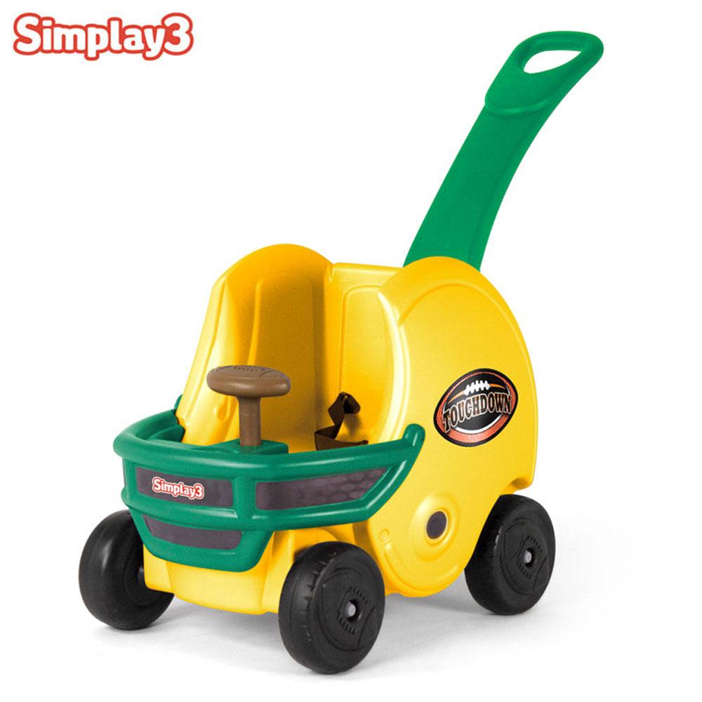 헬멧 손잡이차 옐로우 60302 아기 유아 승용완구 유아 붕붕카 유아완구 아기 승용완구