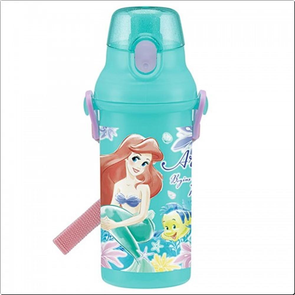 인어공주18 원터치 물통 480ml (에리얼)(일)(394324) 캐릭터 캐릭터상품 생활잡화 잡화 유아용품