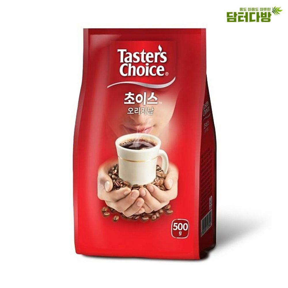 네슬레 초이스 오리지널 500g 한박스 12개입 네슬레 초이스오리지널 초이스커피 봉지커피 원두커피 가루커피 커피