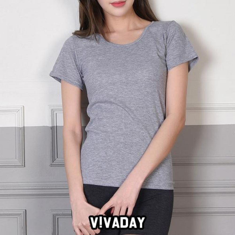 VIVADAY-SC314 기본무지 여성용 반팔 팬티 속바지 트렁크 속치마 속옷 여성속옷 남성속옷 런닝 나시 반팔