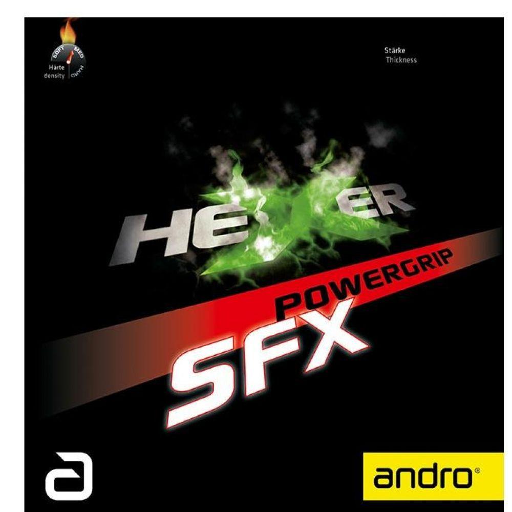 공격형 안드로 헥서 파워그립 SFX 탁구러버 2컬러 스포츠용품 탁구용품 탁구라켓 탁구 탁구러버 러버
