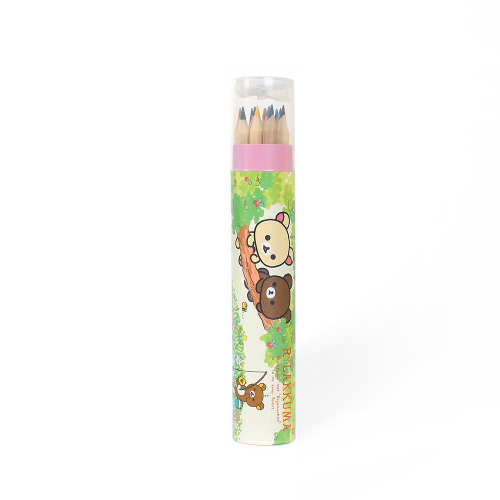 12색 연필깎기/색연필세트 컬러링색연필 원목색연필 색칠공부 크레파스 연필 색연필세트 원목색연필