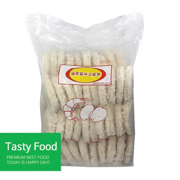 (냉동)사리원새우감자고로케2.8kgX6개 간식 사리원 고로케 식자재 식품
