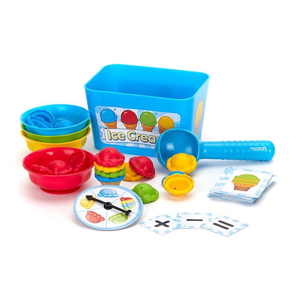 아이스크림 어린이 아이 과학 학습 교구 스마트 수학 유아원 장난감 학습교구 교구 놀이교구