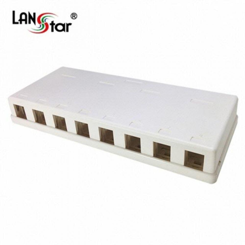40064 LANstar 아울렛 공박스 노출형 8구 컴퓨터용품 PC용품 컴퓨터악세사리 컴퓨터주변용품 네트워크용품 무선공유기 iptime 와이파이공유기 iptime공유기 유선공유기 인터넷공유기