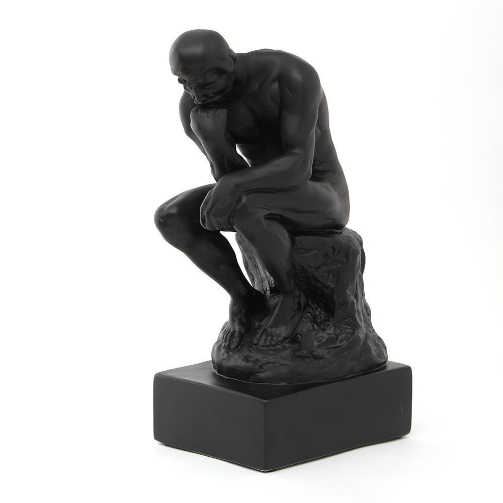 로뎅의생각하는사람 조각상 블랙 인테리어소품 조각품 로뎅조각상 장식품 인테리어장식품 생각하는사람조각상 디자인소품