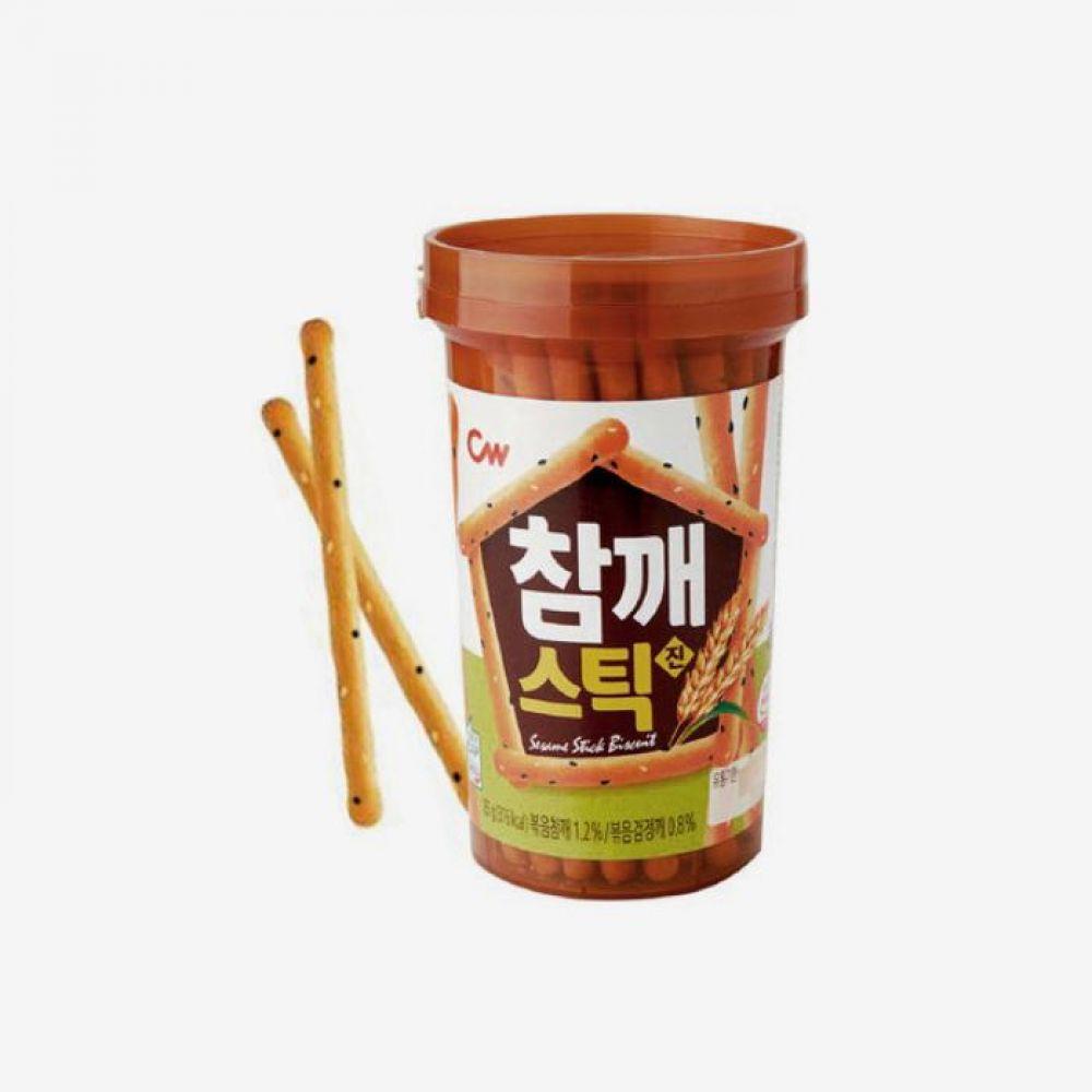 청우 참깨스틱 85g 24개 1박스 청우식품 간식 주전부리 스낵 과자 캔디 참깨스틱