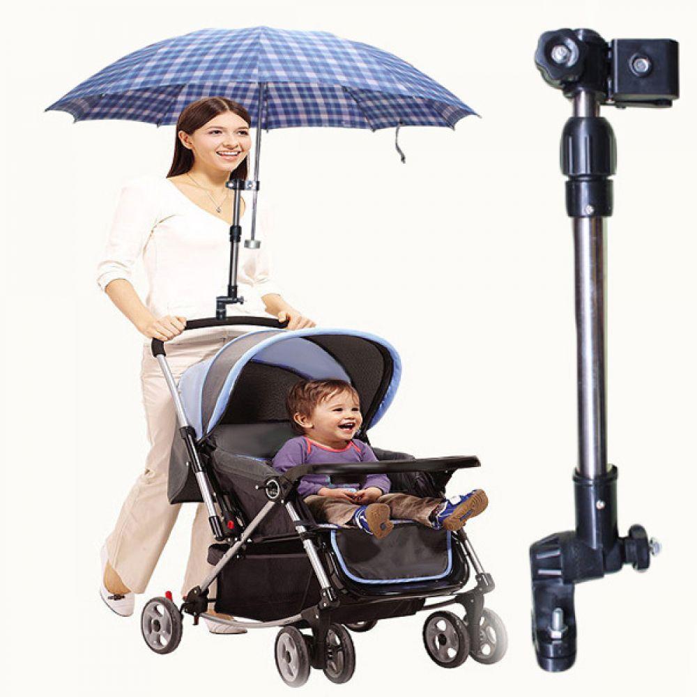 유모차 자전거 우산 거치용 회전가능 스탠드 500012 유모차용품 우산거치대 악세사리 휠체어 우산스텐드 양산고정 우산고정 자전거용품