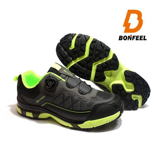 본필 남성 등산화 트레킹화 BFM-3809 그레이 신발