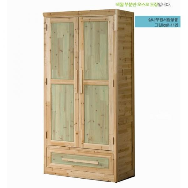 JHC컴퍼니 삼나무 1단서랍 옷장 장식장 선반 서랍장 옷장 인테리어