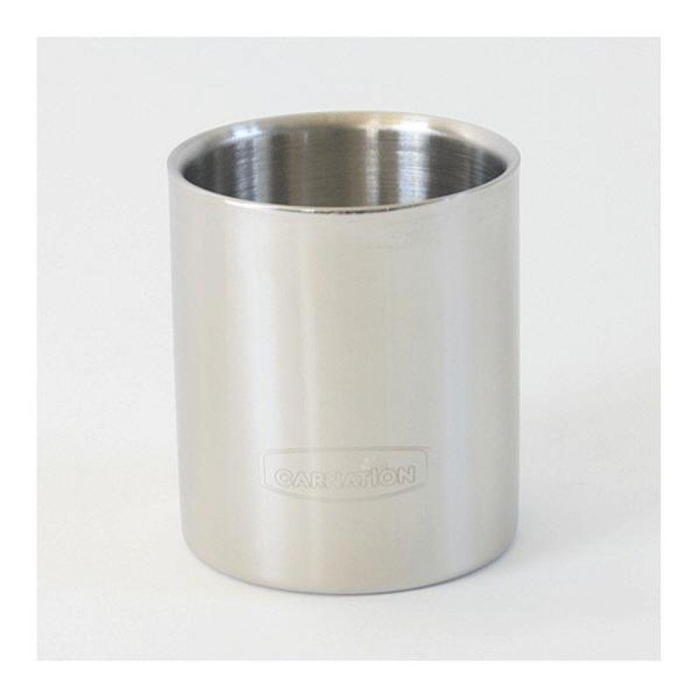 스텐레스 이중컵3호 200ml 머그컵 물컵 도자기컵 머그잔 커피잔
