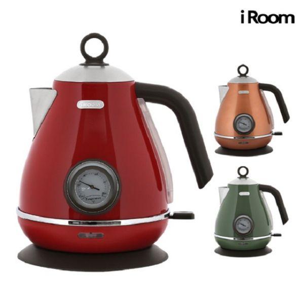 iRoom 1.7L 커피포트 전기포트 전기커피포트 무선포트 무선주전자 전기주전자 분유포트
