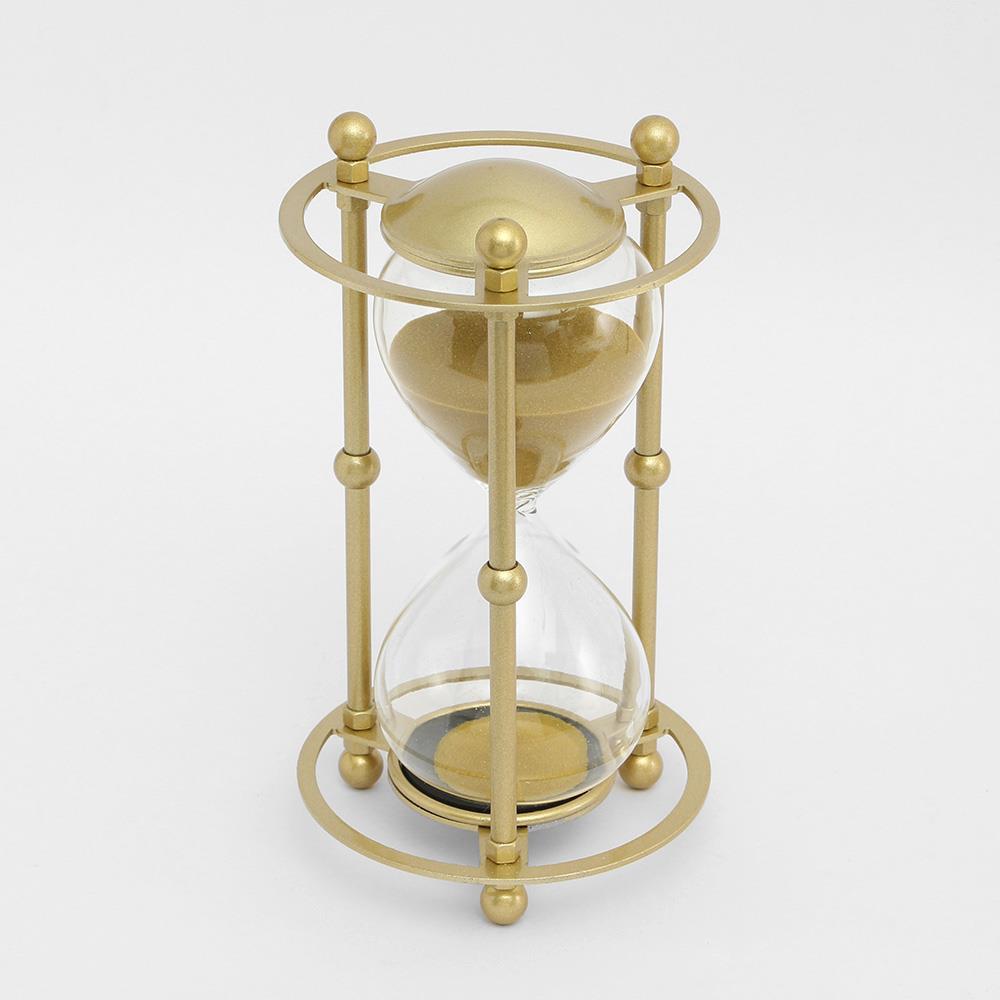 모래시계 인테리어 골드 골드메탈 30분 반신욕시계 인테리어소품 타이머 반신욕시계 모래시계 탁상시계