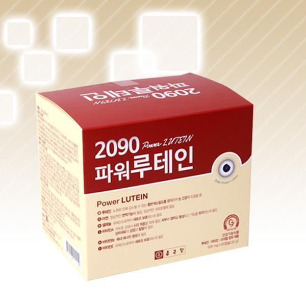 몽동닷컴 종근당 2090 파워루테인 500mgⅹ60캡슐 1팩 비타민 영양제 건강식품 기능식품 루테인