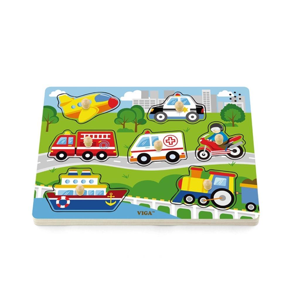 선물 유아 어린이 놀이 사운드 퍼즐 교통 아이 장난감 퍼즐 블록 블럭 장난감 유아블럭