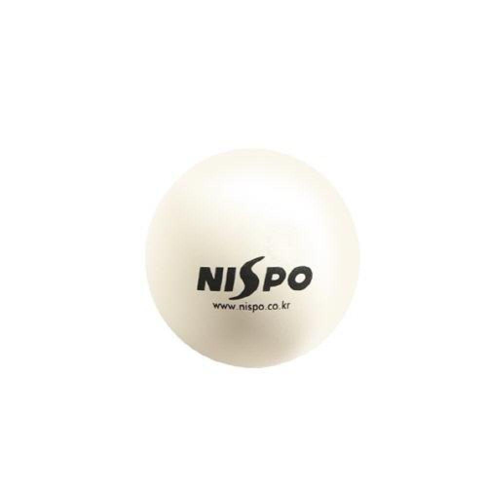 NISPO 천연고무 연식 정구공 1P 스포츠용품 운동용품 정구공 연식정구공 고무정구공