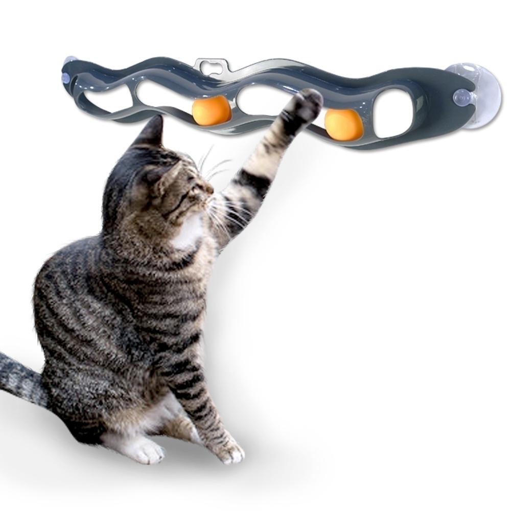 득템상회 트랙 앤 롤 Track N Roll 캣토이 고양이장난감 움직이는고양이장난감 고양이용품 고양이공장난감 고양이놀이기구 고양이훈련 애묘 고양이운동 비만고양이