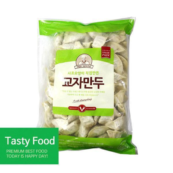 (냉동)사조오양 교자만두1.25kgX10개 만두 사조오양 교자만두 식자재 식품