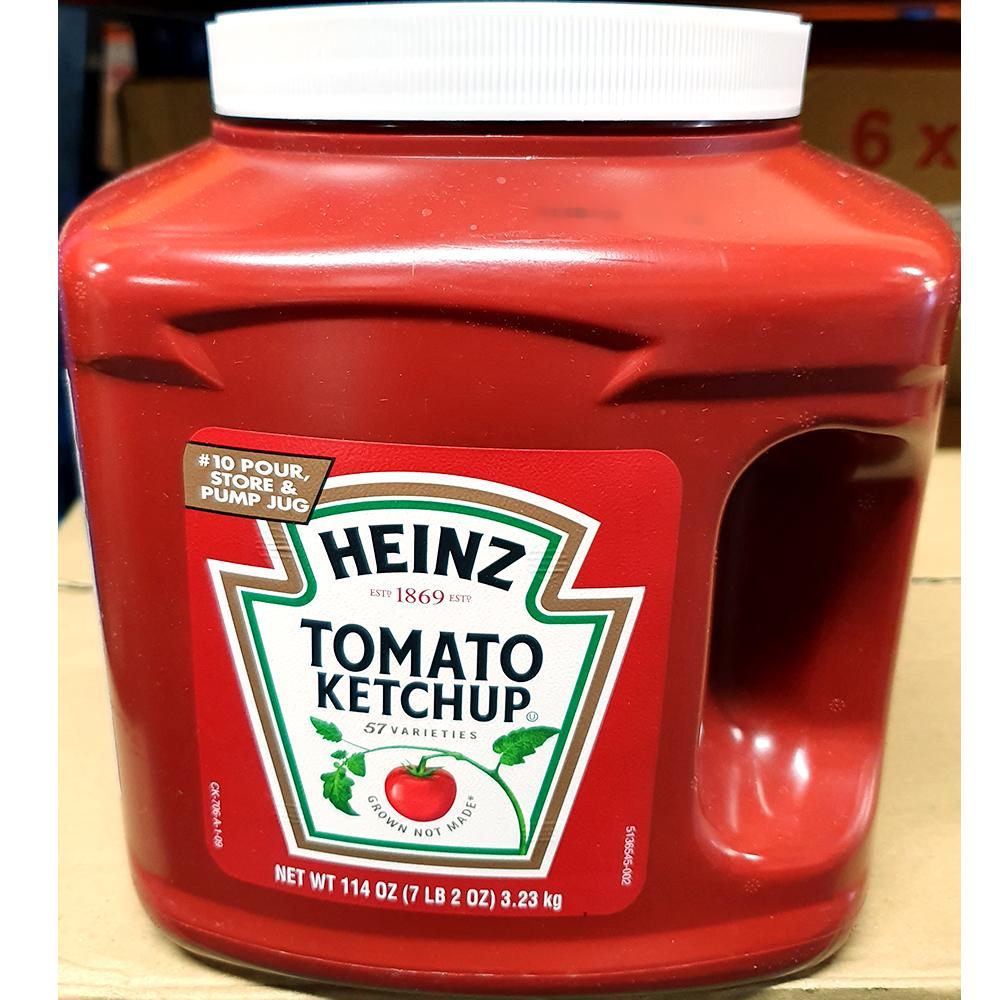식당용 토마토 케찹 저그 하인즈3.23kg x6개 케첩 하인즈 저그 케찹 캐찹 케첩