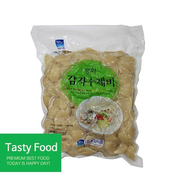 평화 감자수제비1kgX10개 분식 평화식품 감자수제비 식자재 식품