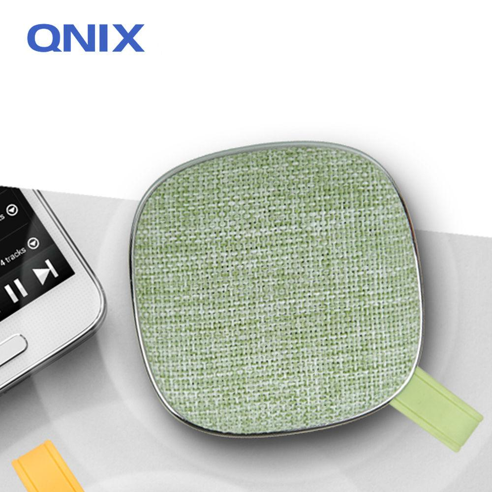 QNIX 고출력 블루투스 패브릭 스피커 (QS-2000) (그린) 스피커 블루투스스피커 노트북스피커 PC스피커 컴퓨터스피커