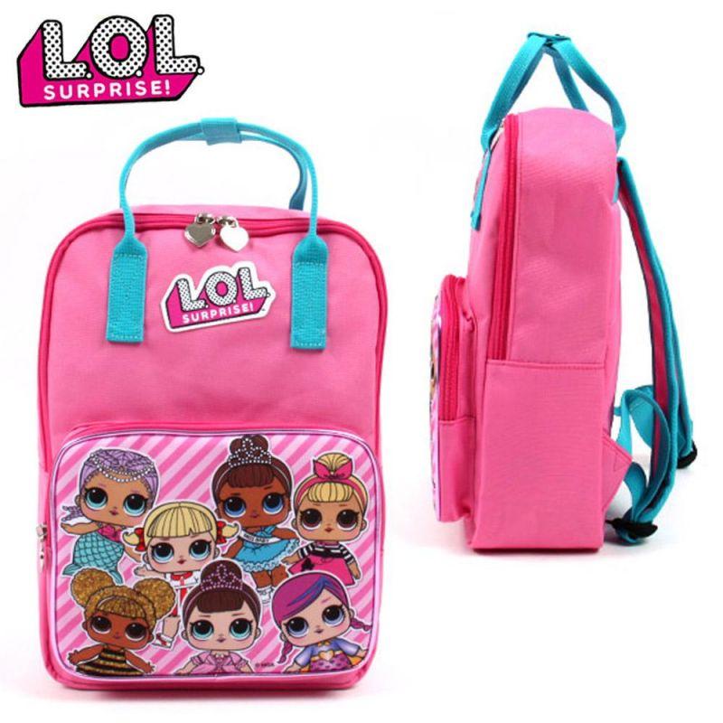 코코브레인 LOL 사각백팩 (핑크) 책가방 학생가방 아동가방 백팩 신학기