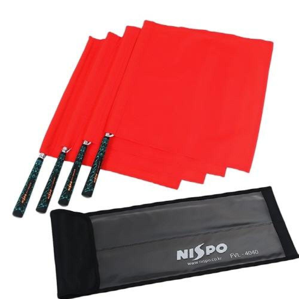 NISPO 배구부심기 배구선심기 세트 스포츠용품 운동용품 배구용품 배구부심기 배구선심기 배구심판용품