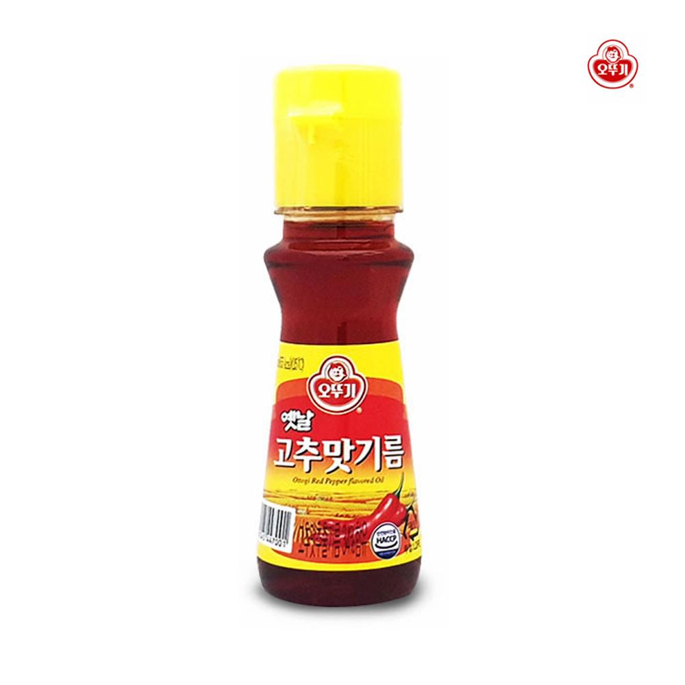 오뚜기 옛날 고추맛기름 80ml/ 간편요리 /고추기름 오뚜기옛날고추맛기름 옛날고추맛기름 고추기름 고추맛기름80ml 고추맛기름