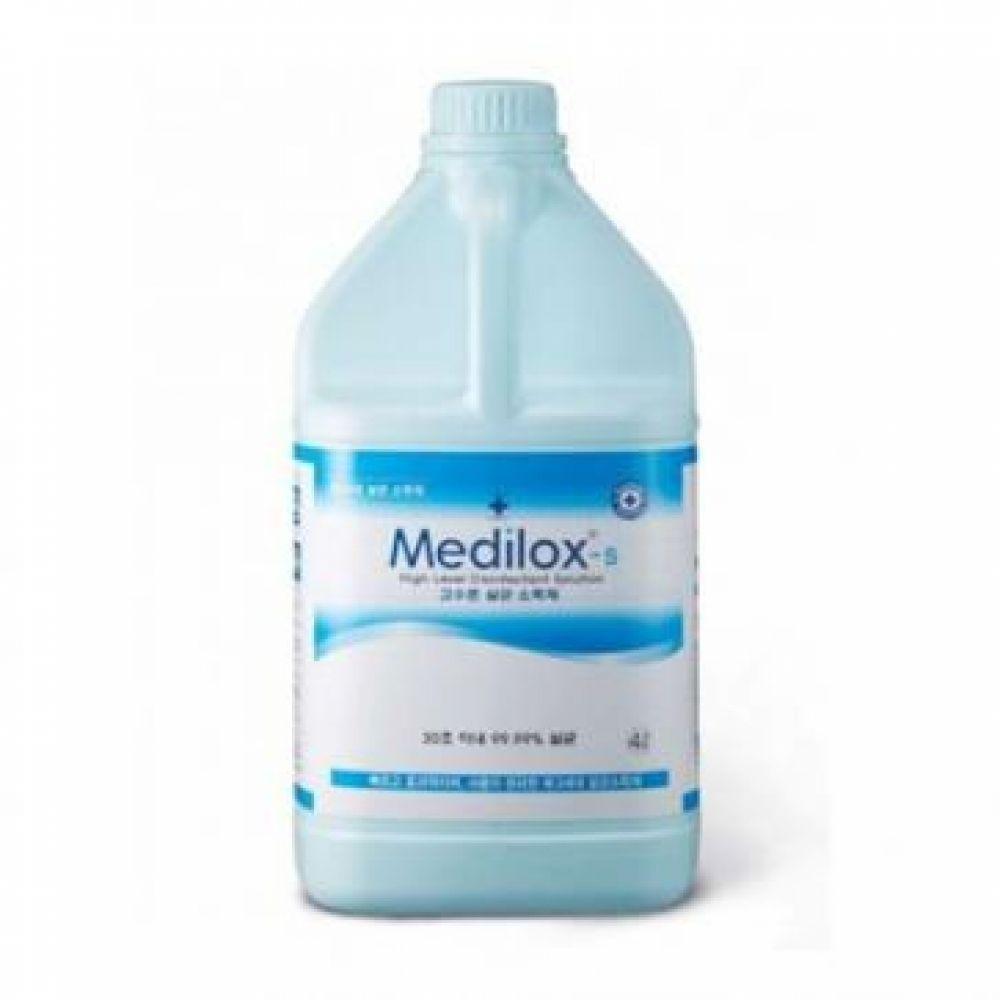 (메디록스S) 고소준 살균소독제 (4L) 반려동물용품 애완동물용품 반려견소독제 반려동물위생용품 반려동물필수용품