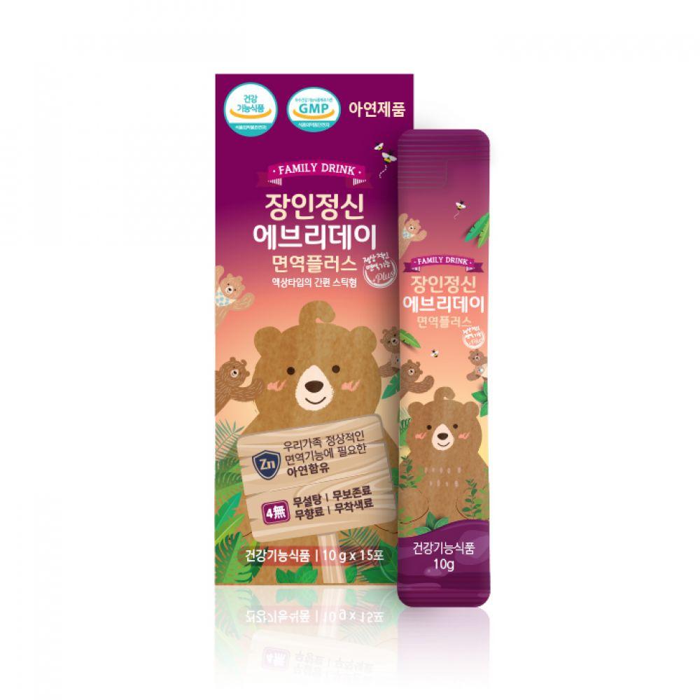엘더베리 아연 스틱형(15개입) 150ml 1박스 아연 영양제 어린이영양제 순수식품 장인정신에브리데이플러스 삼부커스 엘더베리 에좋은영양제 엘더베리시럽 아기아연