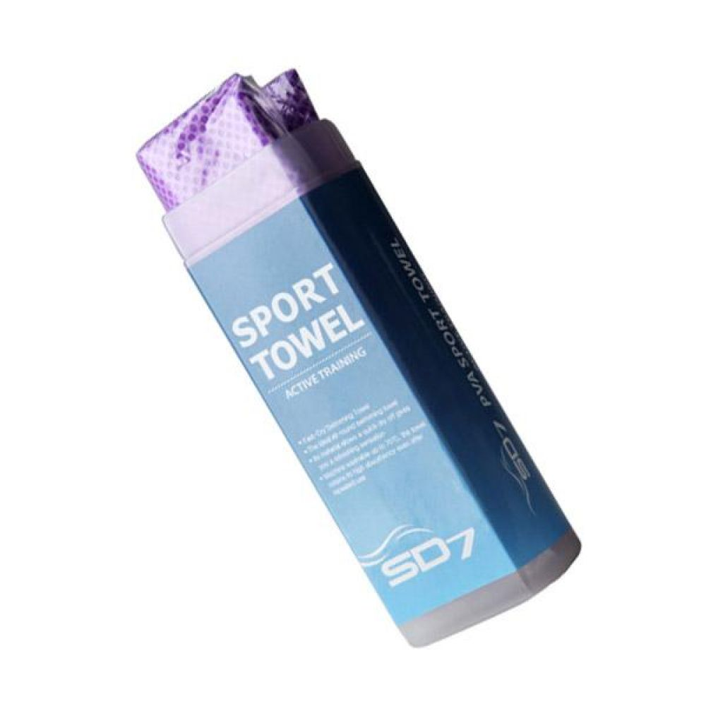 SGL-TW03-PPL SD7 습식타월(대) 스포츠수건 스포츠타월 스포츠타올 수영용품 운동용품