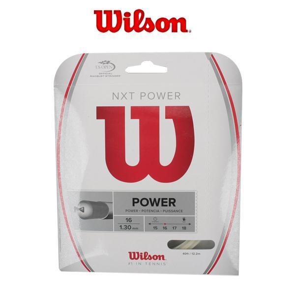 윌슨 NXT 파워 16 스트링 - WRZ941600 그립 라켓그립 테니스그립 배드민턴그립 라켓용품